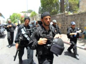 Fuerzas especiales israelíes en Jerusalén Este (2010)